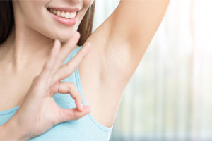 Лазерная эпиляция рук и подмышек 3